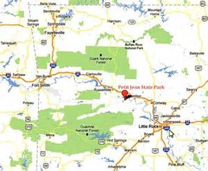 Arkansas State Parks Map by Directions To Reunion
