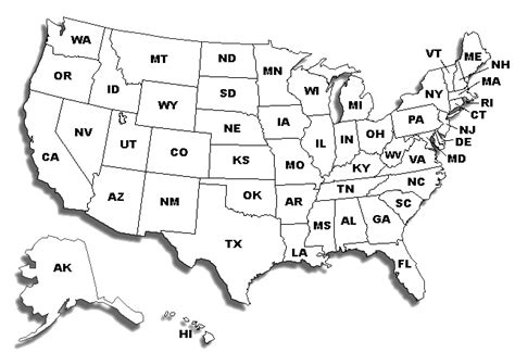 us map black and white printable black and white printable maps of america pictures to pin