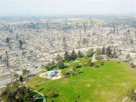 round santa rosa ca apocalyptic views from above the deadly california