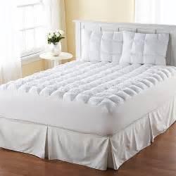 mattress pad walmart magic loft mattress topper walmart