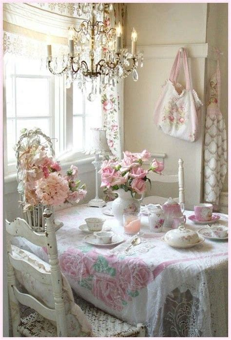 shabby chic for a tea party devine dining rooms pinterest