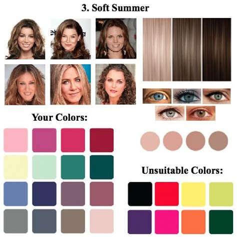 soft summer color palette 1000 ideas about soft summer makeup on soft