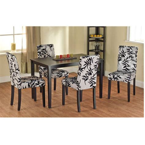 dining room parson chairs leaf print parson chair set of 2 modern dining room sets