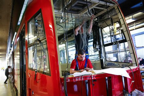 amid publicity tour denies affair with hill streetcars assembled in sodo to begin testing