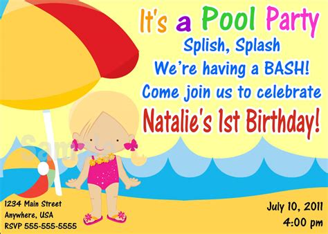 8 best images of free printable party invitations