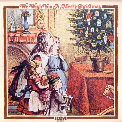 Wish Records We Wish You A Merry Rca Records Prs314 Vinyl Record Lp