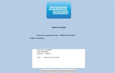 american express tenencia pago pasarela de pago americanexpress 3d zencart mojomexico