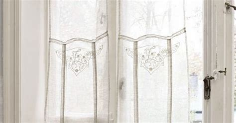 airy curtains pretty light airy curtains perfect for french doors via