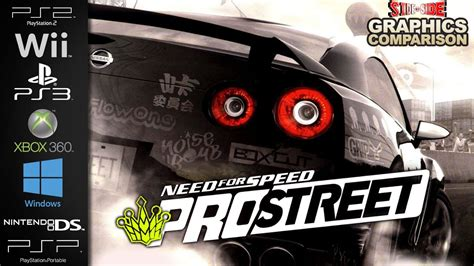 wii vs ps2 which has need for speed prostreet graphics comparison ps2
