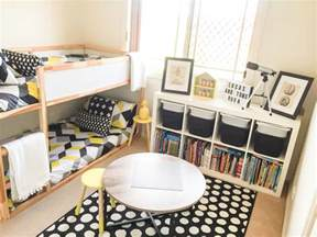 shared boys bedroom ideas shared boys geometrical bedroom combination of ikea and
