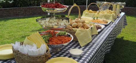 Outdoor Buffet Table Ideas Choice Image   Table Decoration