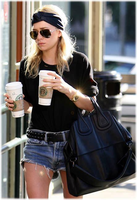 Olsens Givenchy Nightingale Purse how to dress like kate and