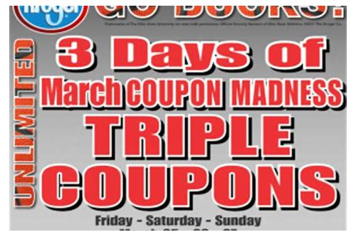 kroger stores in indiana that double coupons