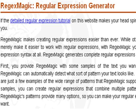 30 useful regular expressions tools and resources hongkiat javascript regex test phpsourcecode net