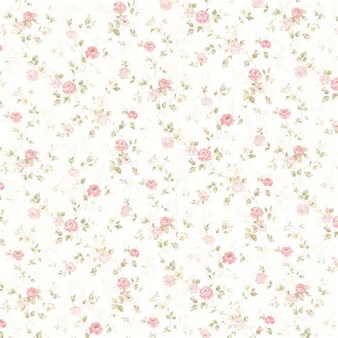Peel And Stick Wallpaper Reviews by 992 68348 Pink Delicate Satin Floral Trail Wallpaper