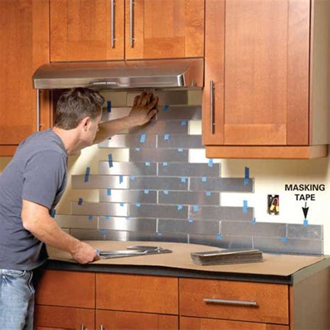 easy to install backsplashes for kitchens top 30 creative and unique kitchen backsplash ideas