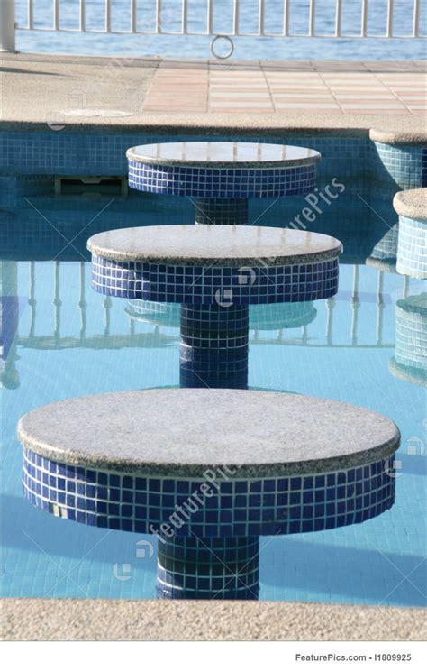 swimming pool bench architectural details swimming pool benches stock image