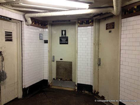 Nyc Subway Bathrooms by Hold It In Why Are Most Bathrooms In The Nyc Subway