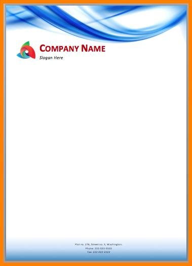 Letterhead Design Free Download Free Printable Letterhead Create Letter Template