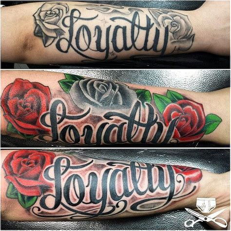 loyalty tattoo on forearm 25 best ideas about loyalty on faith