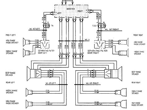 6 speakers 4 channel wiring diagram wiring diagram