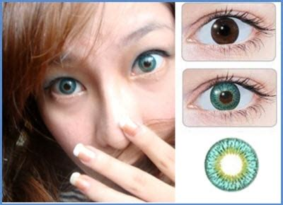 geo twins series – turquoise lens yh 302 | contacts cow
