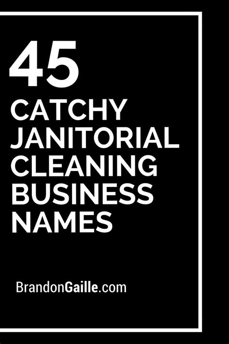 catchy landscape business names cleaning service logo customized