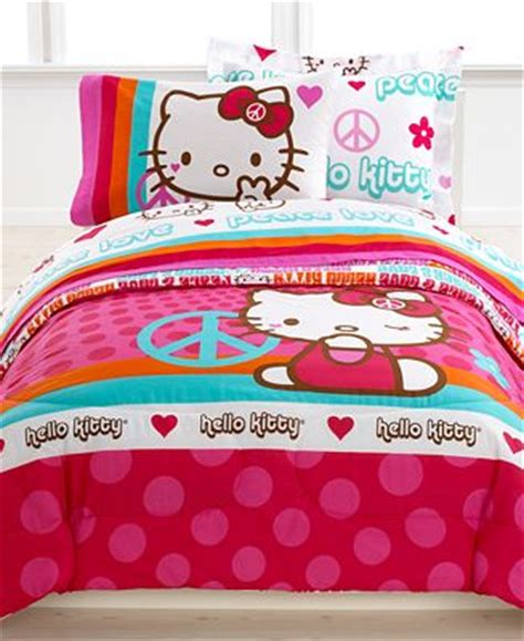 Hello Bed Sets by Hello Bedding Peace Reversible Mini Comforter