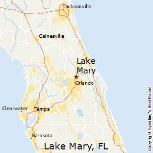 Map Of Lake Mary Florida by Best Places To Live In Lake Mary Florida