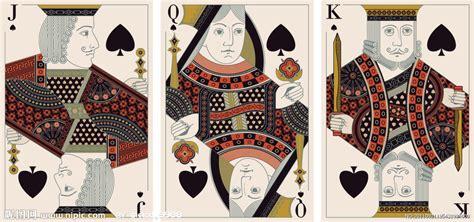 扑克牌 扑克牌jqk原型 扑克牌原型 淘宝助理
