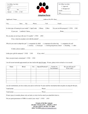 Cyber Pet Adoption Ab Child Adoption Agreement Template