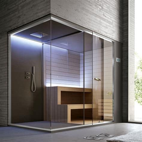 cabine doccia con sauna ethos hafro geromin