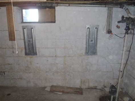 dryzone llc photo album fixing a basement wall in