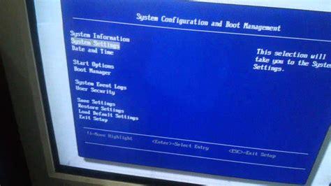 Hardisk Rock setting booting hardisk di bios ibm server x3100 m4