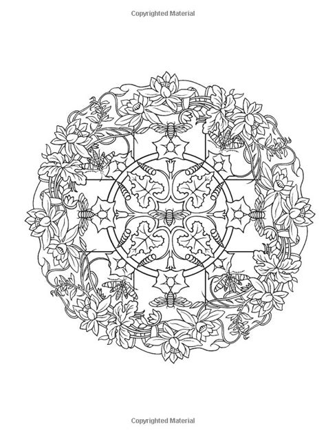 nature mandalas coloring book marty noble 1000 images about mandalas on coloring