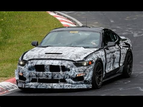 2018 2019 shelby mustang gt 500 spied on road test