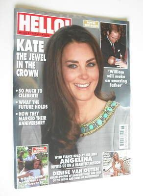 Kate In Magazine I Am A Bit Wacky by Hello Magazine Kate Middleton Cover 7 May 2012 Issue