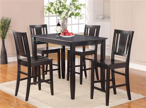 rectangular counter height table and chairs 5pc rectangular counter height set 30 quot x48 quot table and 4