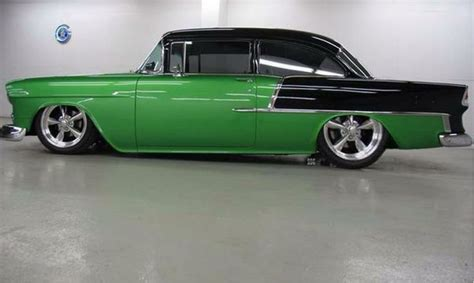 chevy green green black chevy bel air bel air