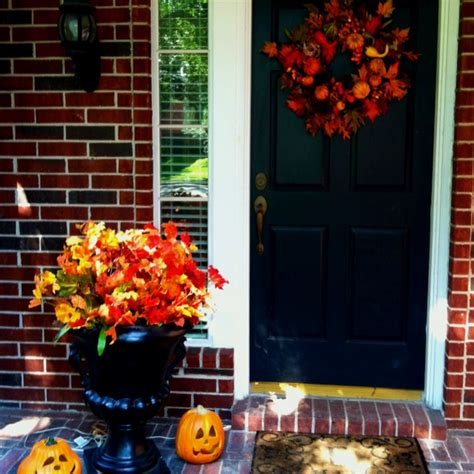 fall curb appeal fall curb appeal autumn
