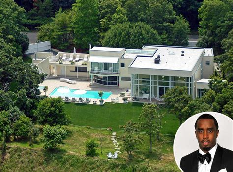 celebrities houses sean diddy combs from celebrity homes in the htons e