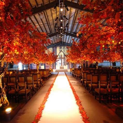 fall wedding decorations ideas memorable wedding nature inspired fall wedding decors