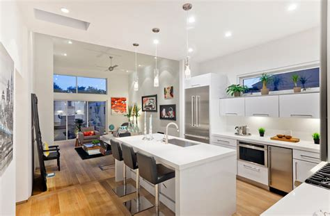 modern kitchen interior maplewood modern kitchen los angeles by american