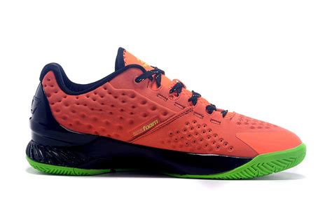 armour basketball shoes orange genuine armour curry one low bolt orange basketball