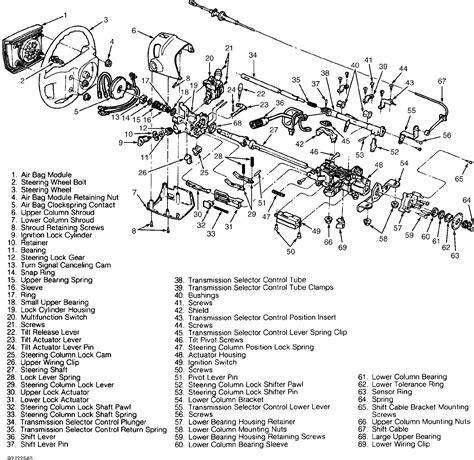 chevrolet tilt steering column wiring diagram get free