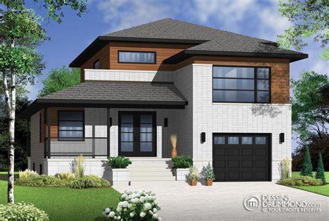 Drawing Of A House With Garage zen contemporain w3470 maison laprise maisons pr 233