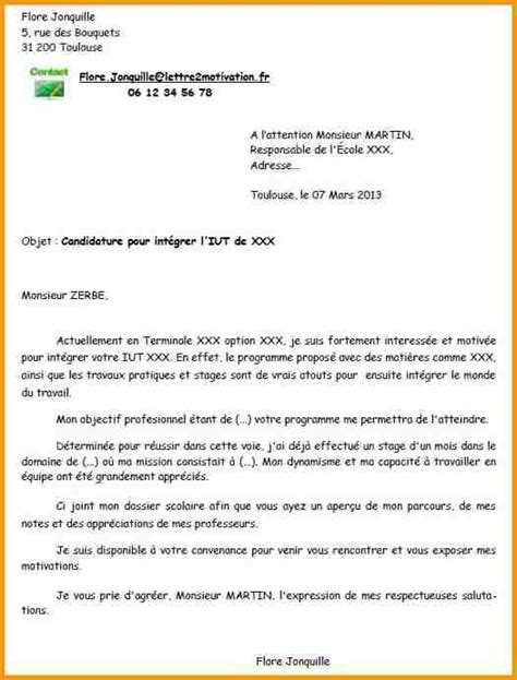 Lettre De Motivation Apb Gea 5 Lettre De Motivation Iut Gea Lettre Administrative