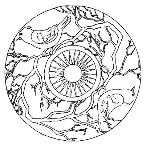 bird mandala coloring pages coloring page mandala animal coloring pages 33