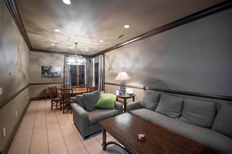 tv room eagles nest estate san juan islands luxury