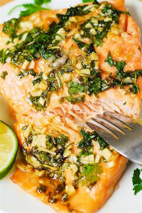 Clintro And Lime Detox Recipes by Cilantro Lime Honey Garlic Salmon Baked In Foil